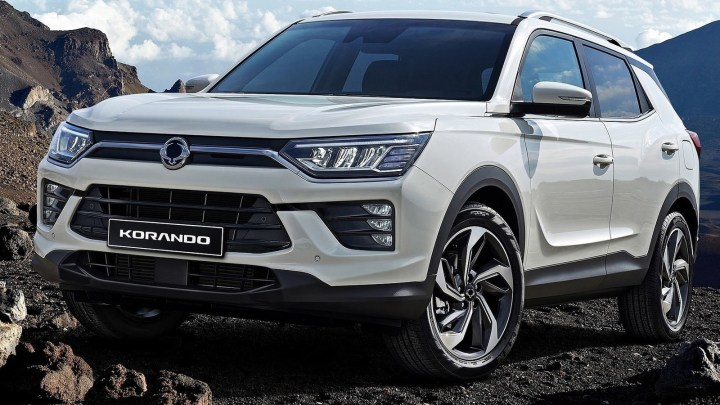 SsangYong Korando 2020: Des lignes plus claires et un design plus net.