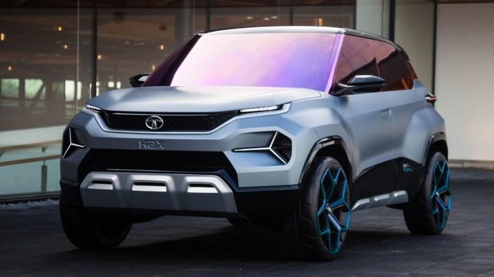 Tata H2X Concept 2019 – Deuxième SUV sous-compact de la société.