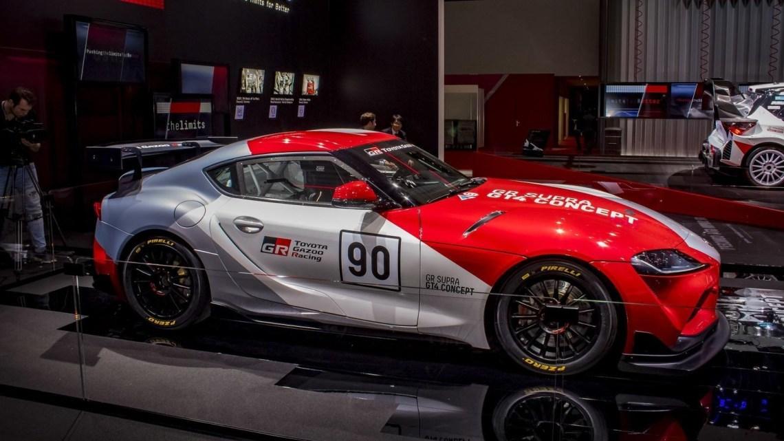 Toyota Supra GT4 Concept 2019 développé par Gazoo Racing.
