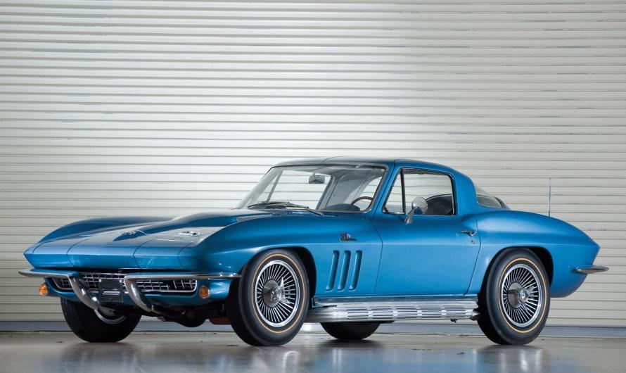 Corvette StingRay L72 1966: reflète l'image de l'Amérique des années 50.