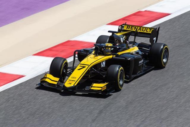 Formule 2 2019 UNI Virtuosi Racing - Guanyu Zhou