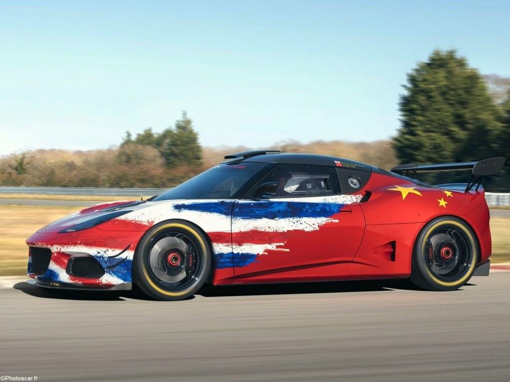 Lotus Evora GT4 Concept 2019