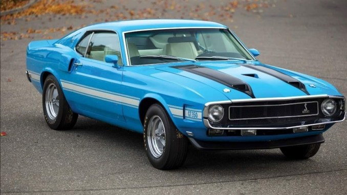Ford Mustang Shelby GT350 1970