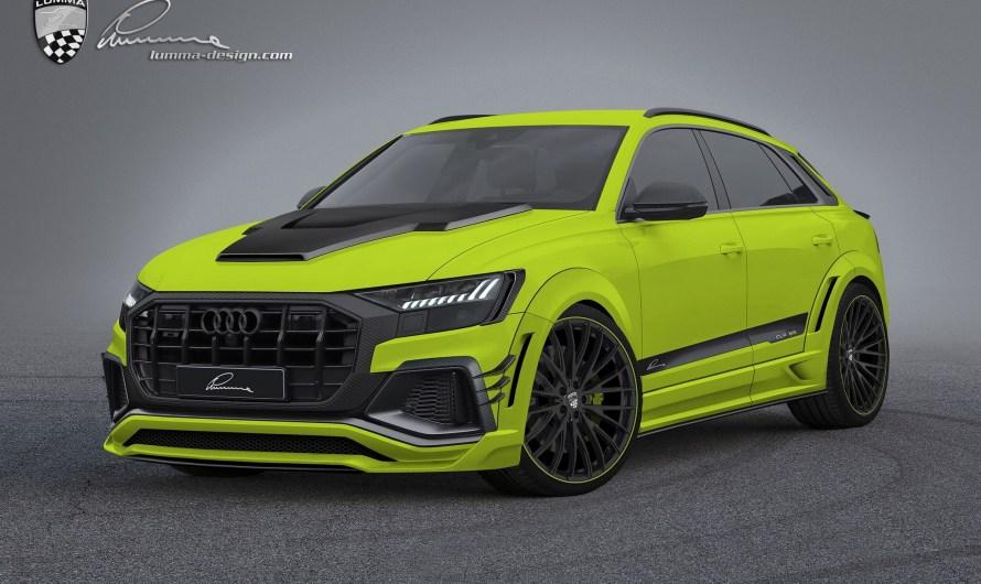 Lumma CLR 8S Audi Q8 2019 – Des composants a l'aspect extravagant.