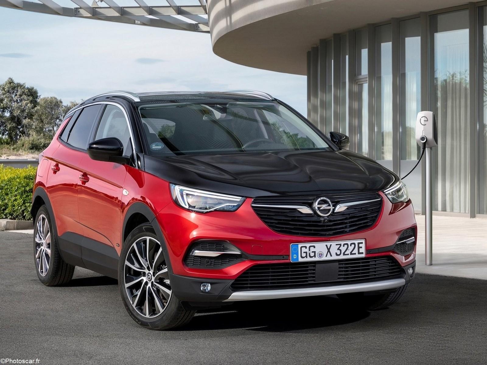 Opel Grandland X Hybrid4 2019