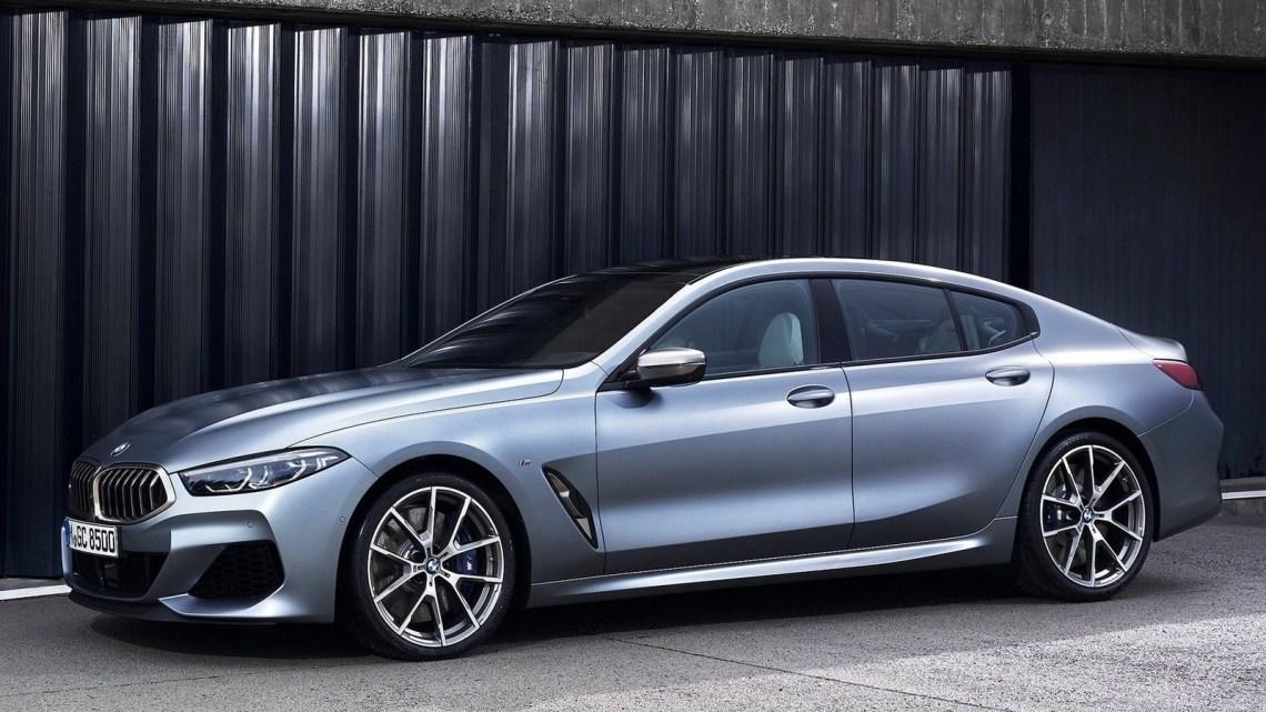 BMW Série 8 Gran-Coupé 2020 sera disponible dans les versions I6 et V8.
