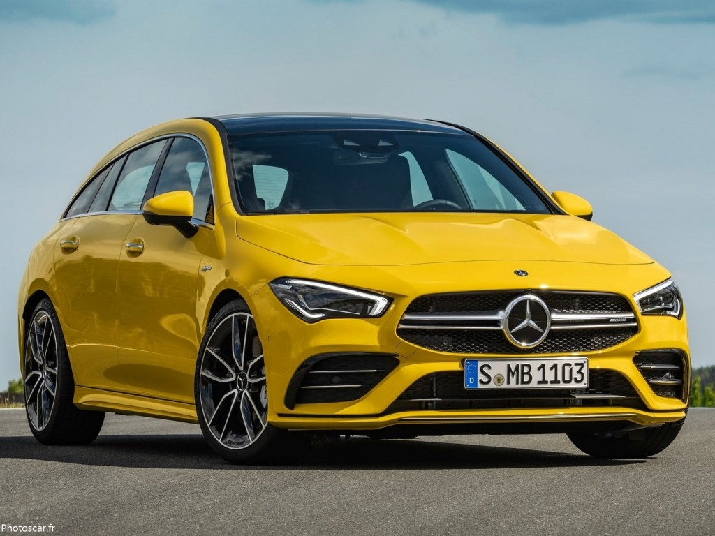 Mercedes CLA35 AMG 4Matic Shooting Brake 2020