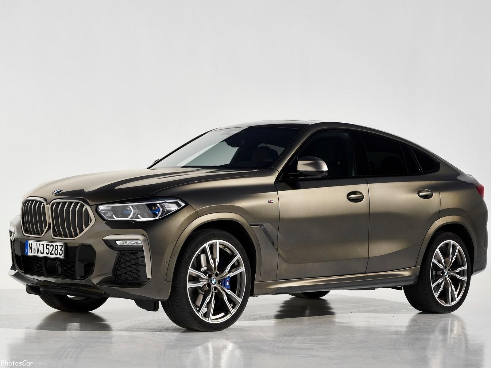 BMW X6 M50i 2020