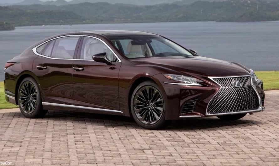 Lexus LS 500 Inspiration 2020 avec un moteur V6 de 3,5 l turbo de 416 ch