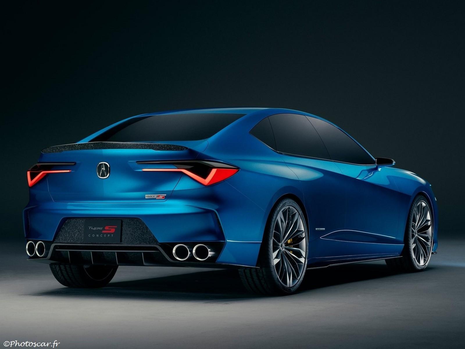 Acura Type S Concept 2019