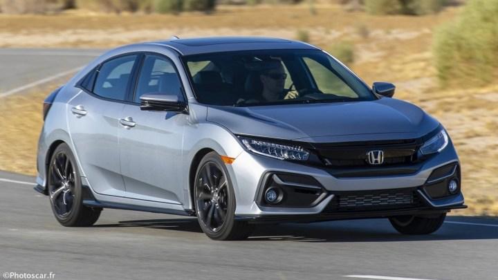 Honda Civic Hatchback 2020 – Elle reçoit un visage plus méchant