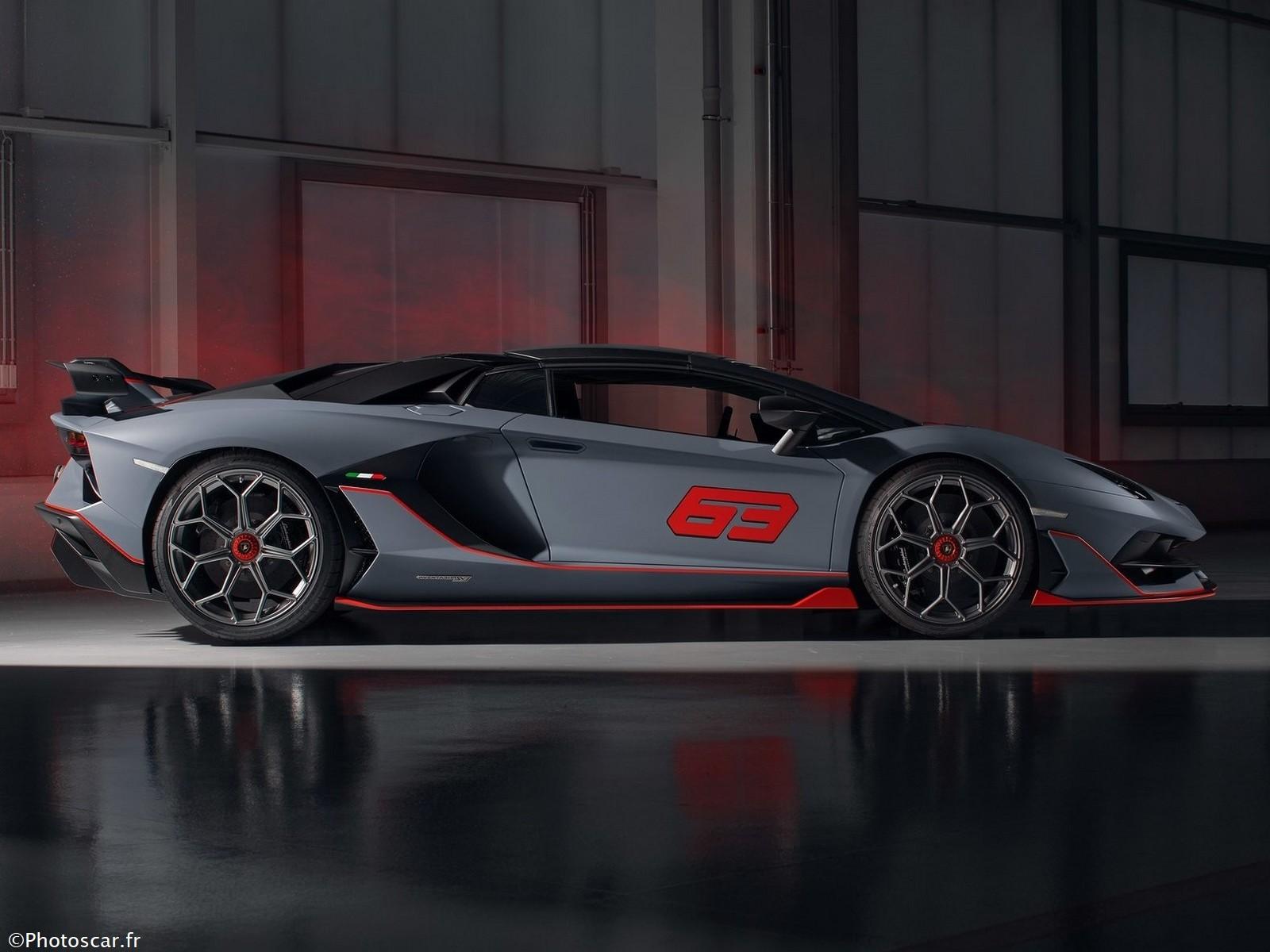 Lamborghini Aventador SVJ 63 Roadster 2020