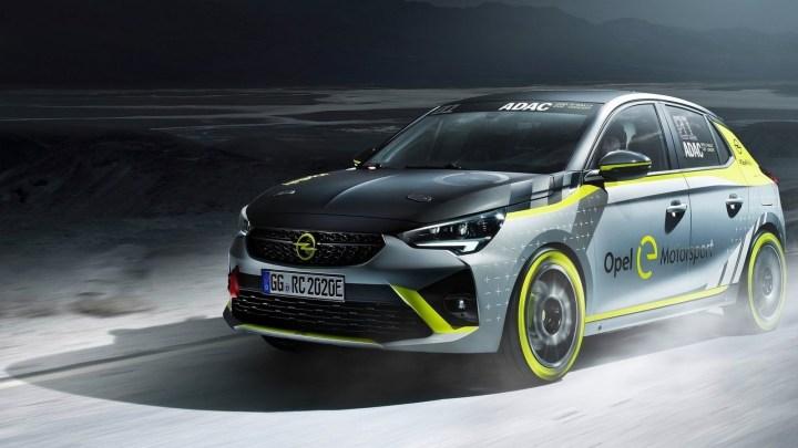 Opel Corsa-e Rallye 2020 – La voiture de rallye électrique dévoilée