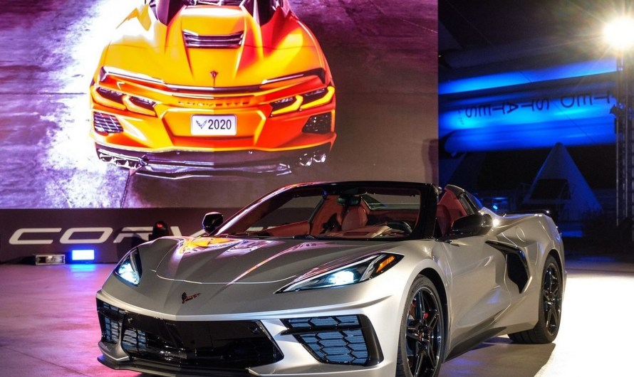 Chevrolet Corvette C8 Convertible 2020 avec un toit rigide repliable