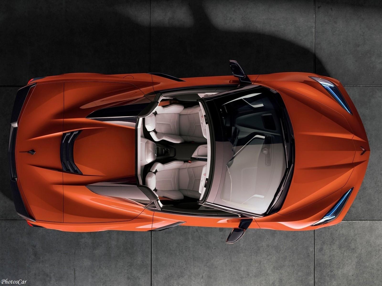 Chevrolet Corvette C8 Convertible Stingray 2020