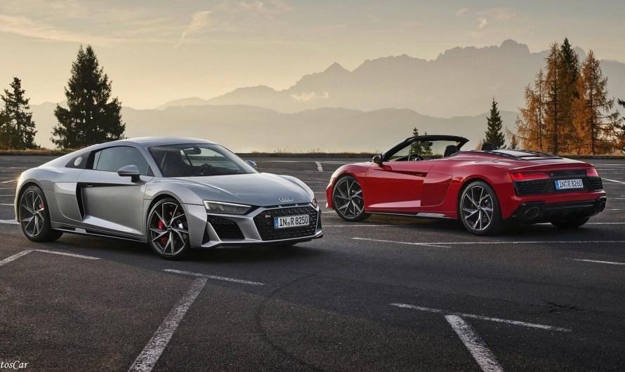 Audi R8 V10 RWD 2020 – 540 ch, propulsion, plus léger et moins cher!