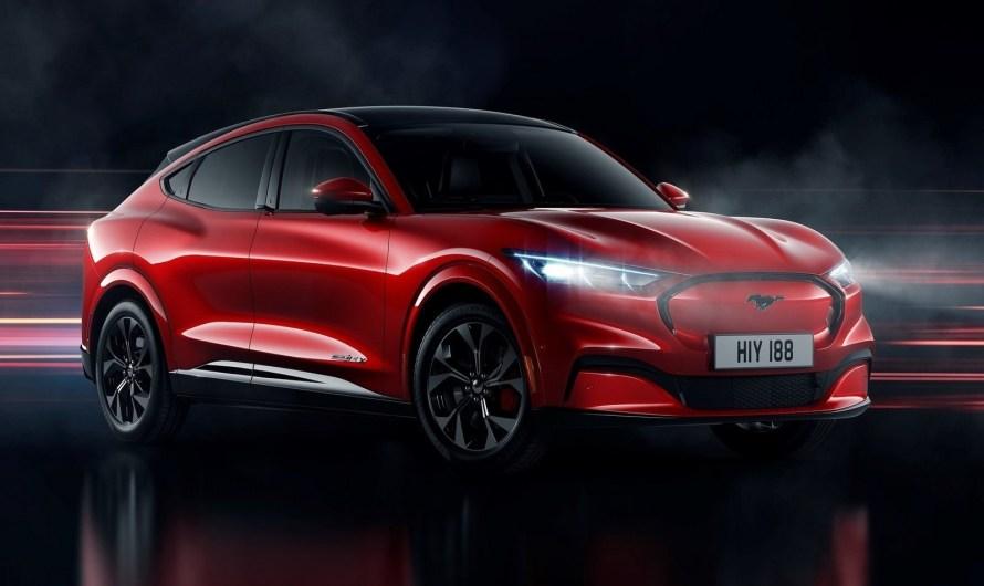 Ford Mustang Mach-E 2021 – Le premier SUV tout électrique de Ford