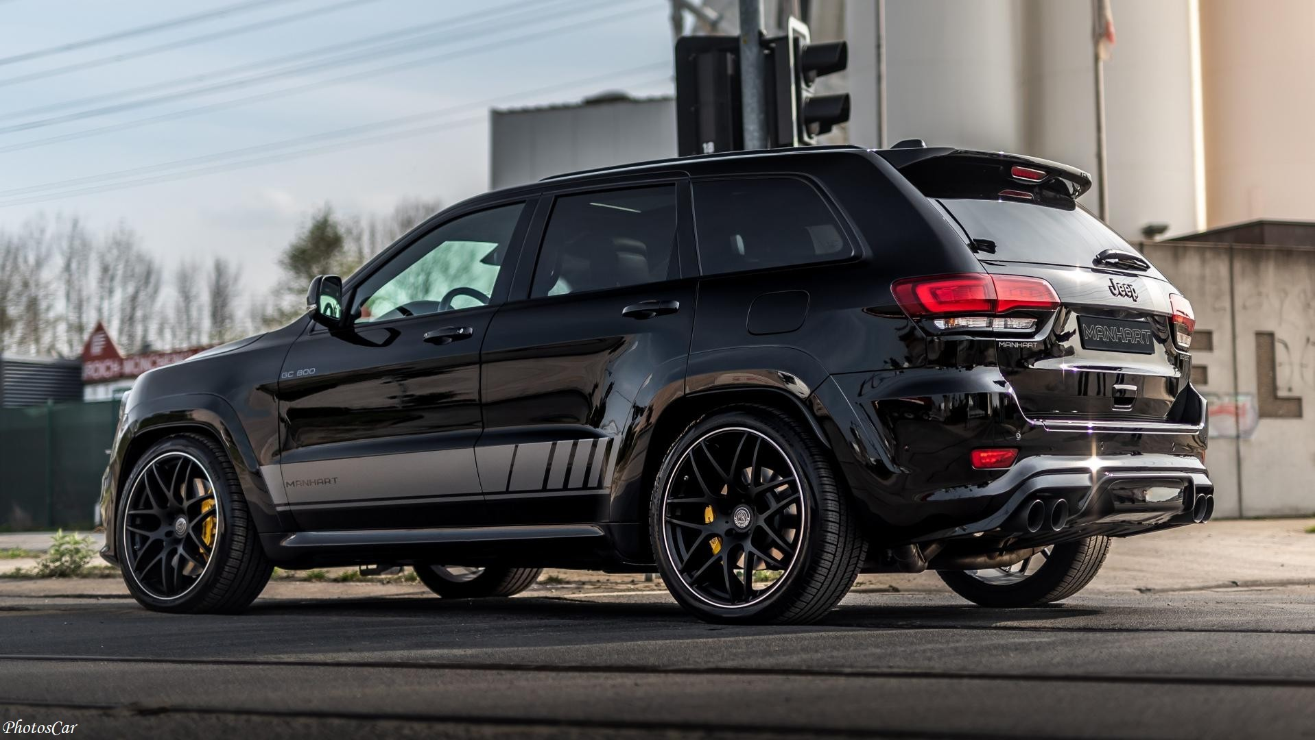 Manhart GC800 Jeep Grand Cherokee TrackHawk