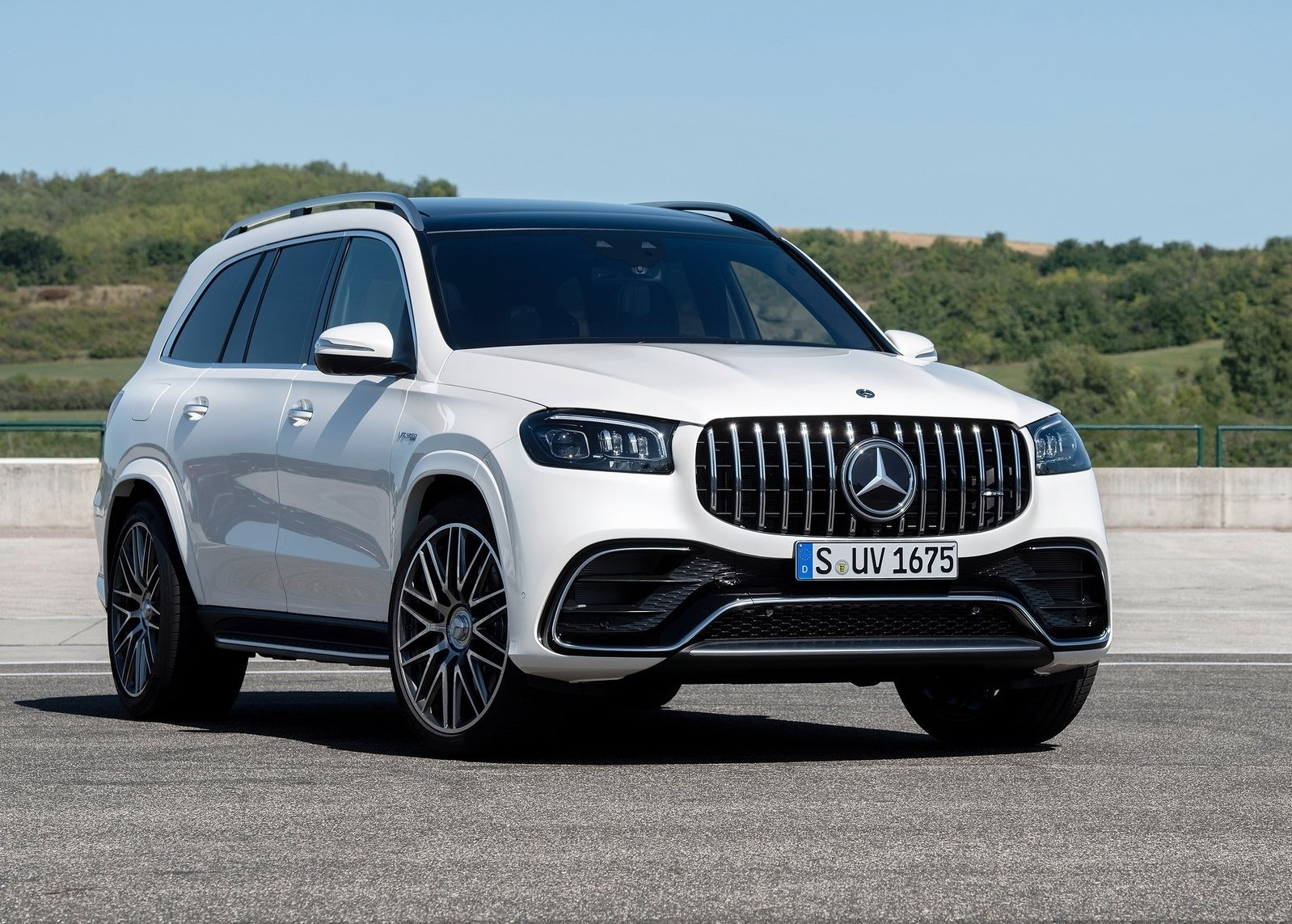 Mercedes AMG GLS 63 2021