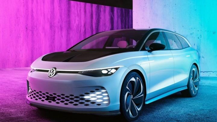 Volkswagen ID Space Vizzion Concept 2019 – Voiture purement électrique