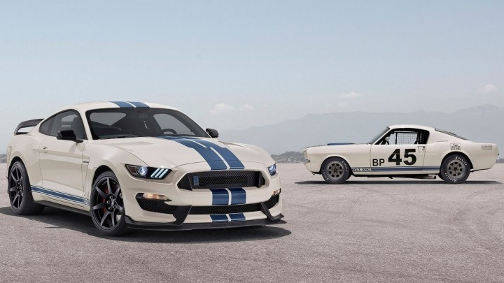 Ford Mustang Shelby GT350 Heritage Edition 2020 – Prix et spécifications