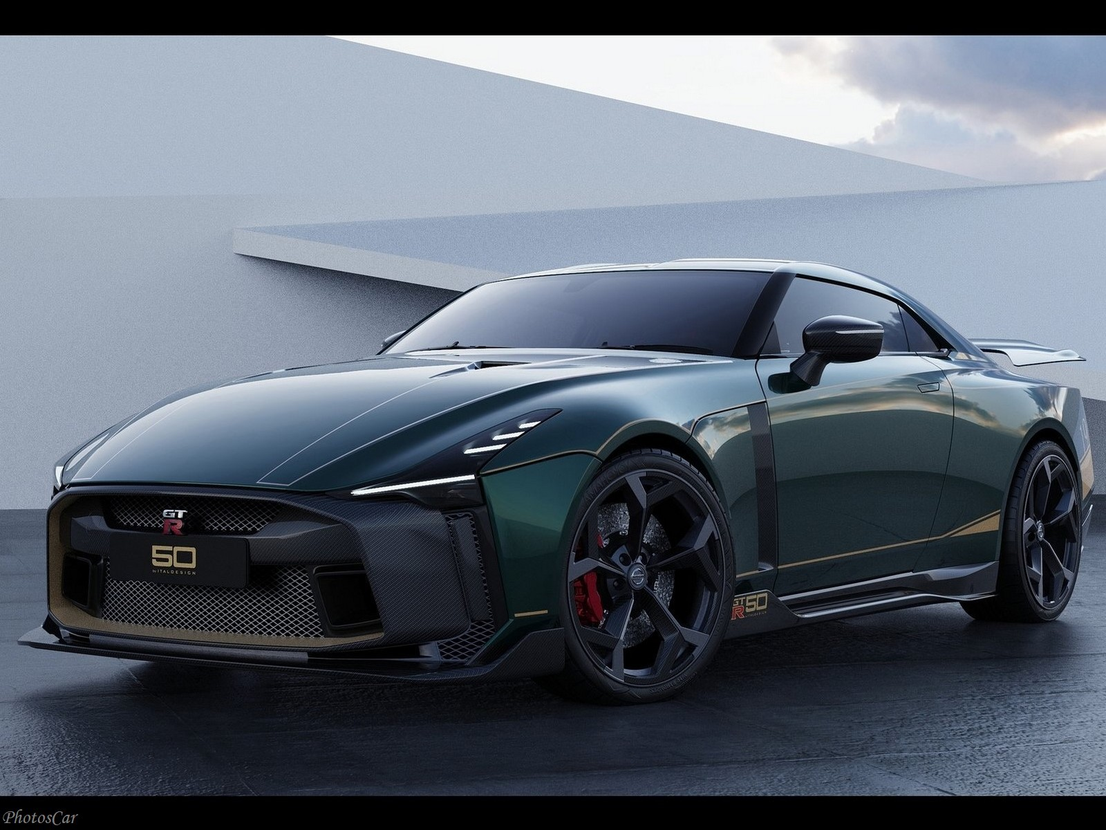 Nissan GT-R50 Italdesign 2021