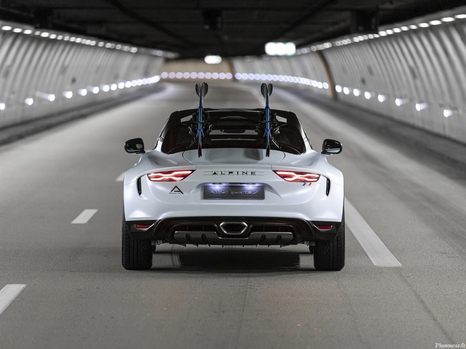 Alpine A110 SportsX Concept 2020