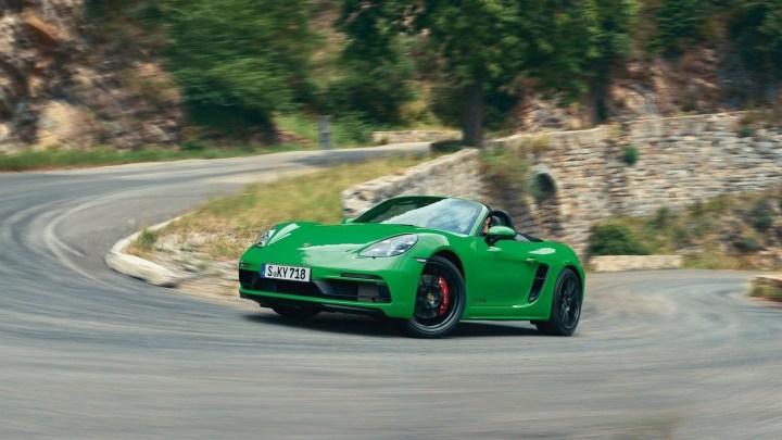 Porsche 718 Cayman et Boxster 2020 – retours de puissance à 6 cylindres
