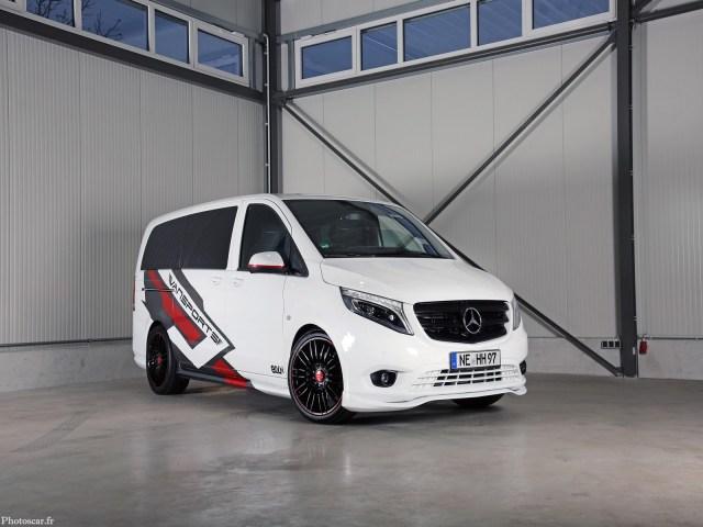 Vansports.de - Mercedes Vito White SportsVan 2019
