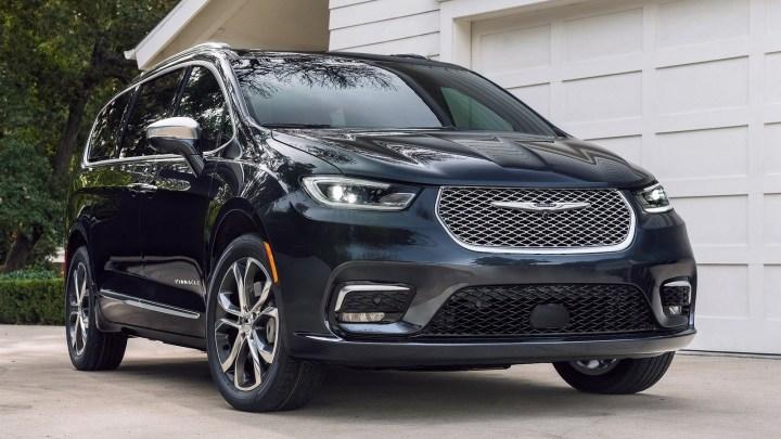 Chrysler Pacifica 2021 avec des capacités et une sécurité accrues