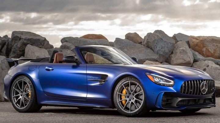 Mercedes-Benz AMG GT R Roadster 2020 – Plaisir de conduire à l'état pur