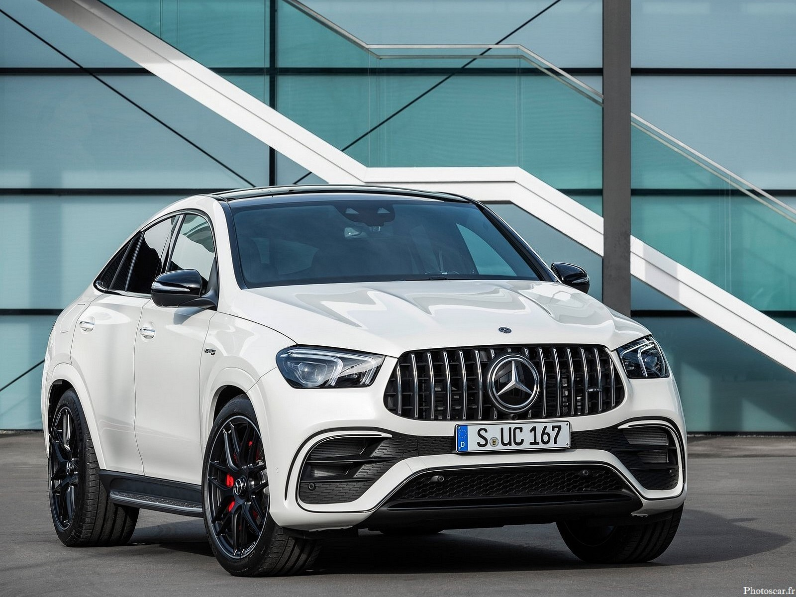 Mercedes Benz GLE63 S AMG Coupe 2021