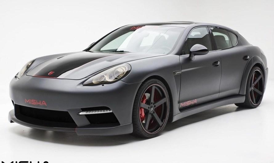 Porsche Panamera Wide Body Kit Misha Designs – Élégante et chaude