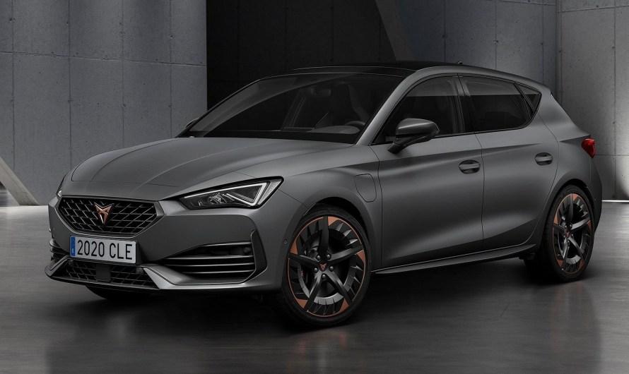 Seat Cupra Leon 2021 hatchback et wagon première fois a moteur hybride