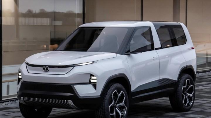 Tata Sierra Concept 2020 – Un concept de SUV électrique à l'Auto Expo
