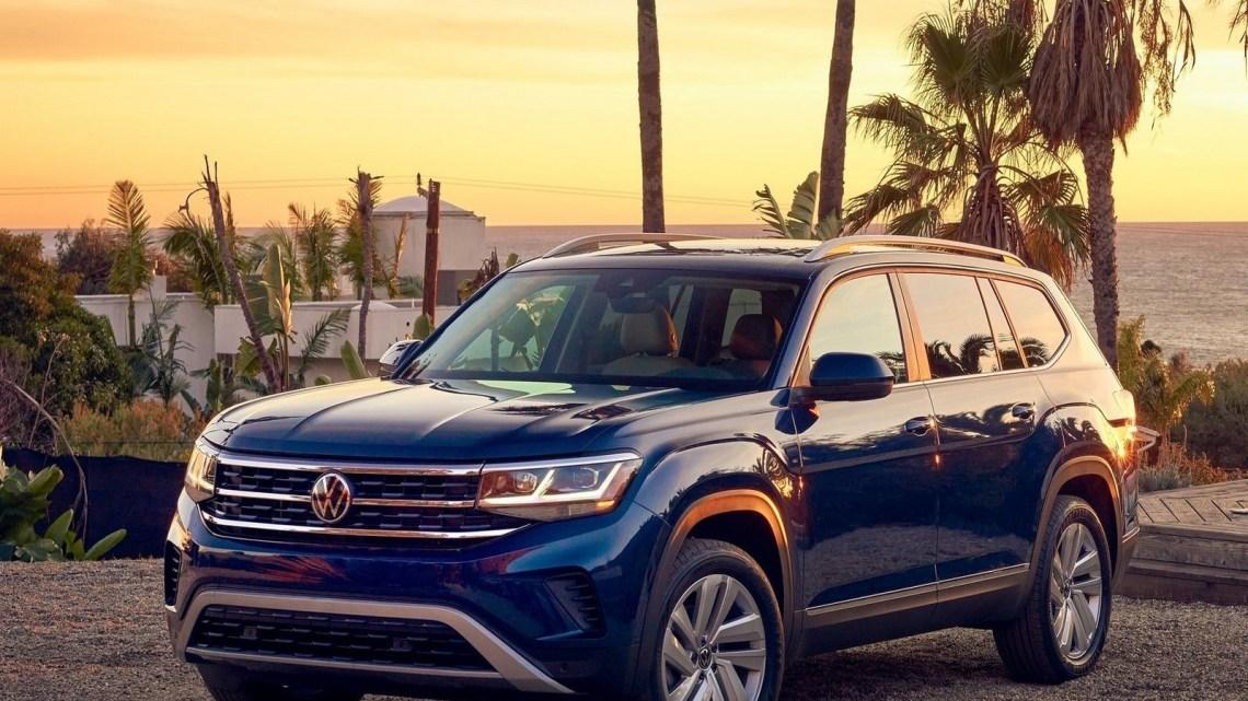 Volkswagen Atlas 2021 – Il arrive avec un nouveau visage audacieux