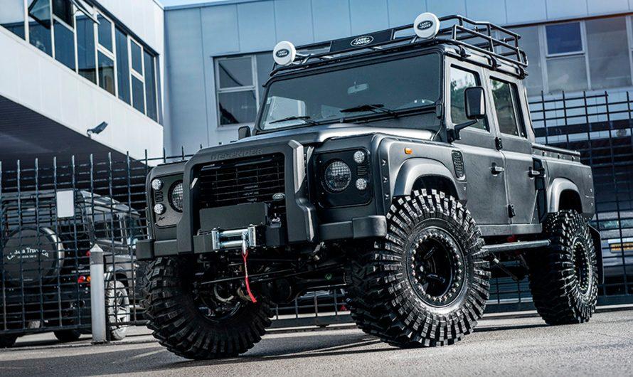 Kahn Design – Land Rover Defender BigFoot 2018 – Gigantesque pickup
