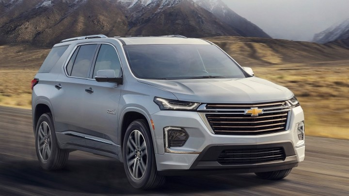 Chevrolet Traverse 2021 – Plus de technologie et plus de style