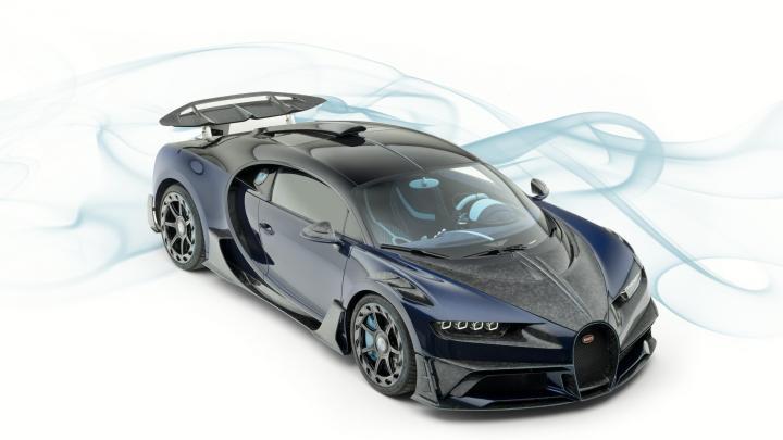 Mansory Bugatti Chiron Centuria – Excellence en génie aérodynamique