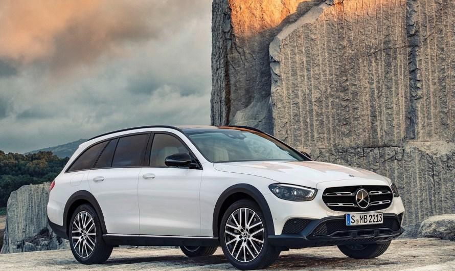 Mercedes Classe E All Terrain 2021 –  Design, confort et sécurité