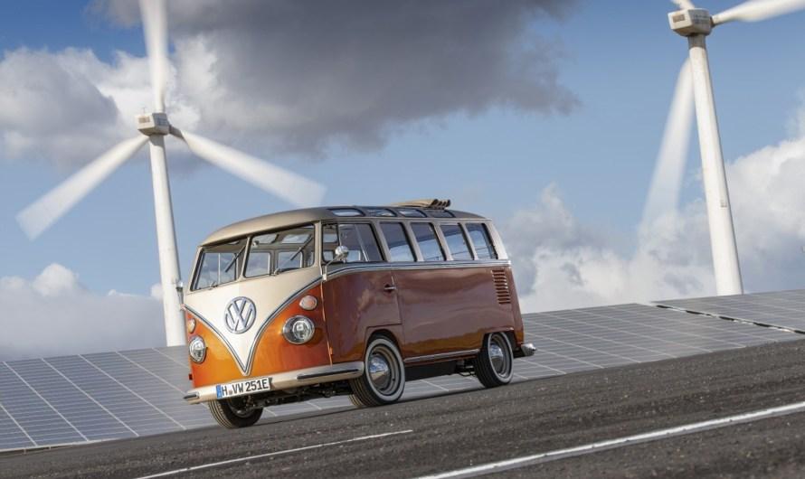 Volkswagen e-bulli Concept 2020 équipé d'un moteur 100 % électrique