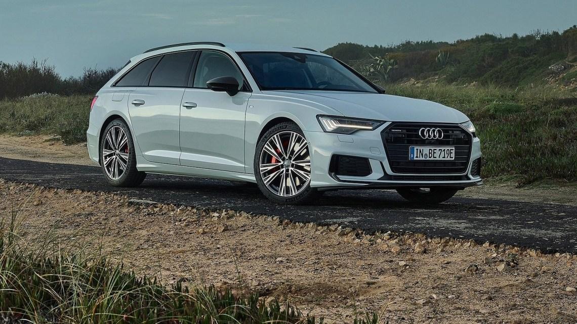 Audi A6 Avant 55 TFSI e-quattro 2020 – Version hybride rechargeable.