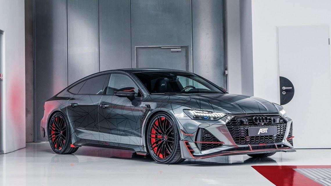 Audi ABT Sportsline RS7-R, aérodynamique et raffinement à l'intérieur