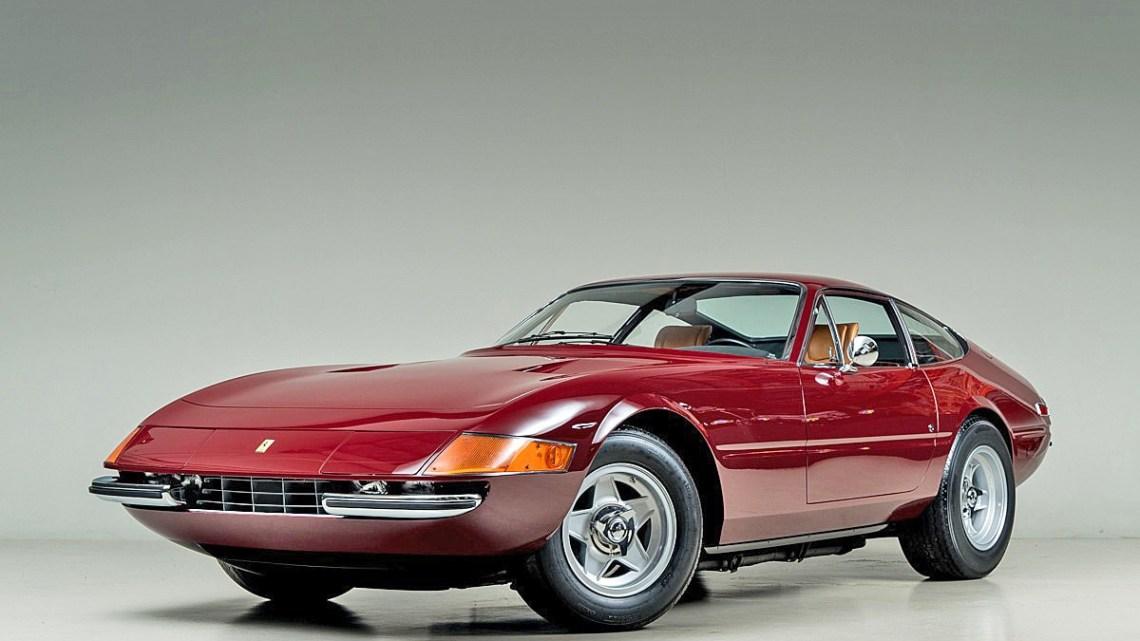 Ferrari 365 GTB 4 Daytona 1972 – Véritable mythe à hauteur de son image