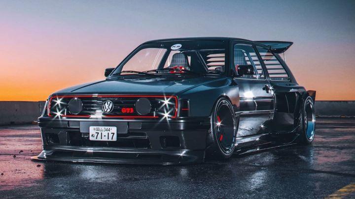 Volkswagen Golf GTI – Khyzyl Saleem, l'artiste numérique derrière l'œuvre