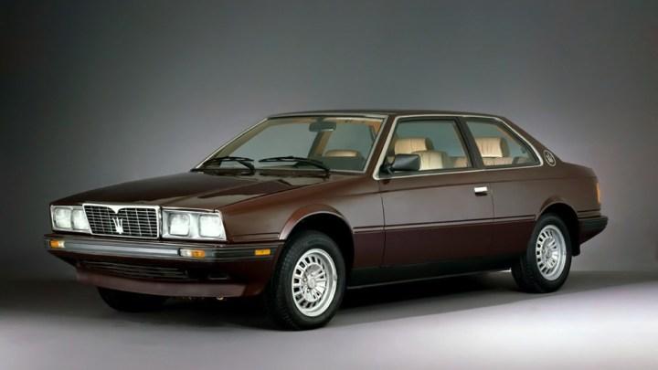 Maserati BiTurbo – Le modèle a été fabriqué à partir de zéro