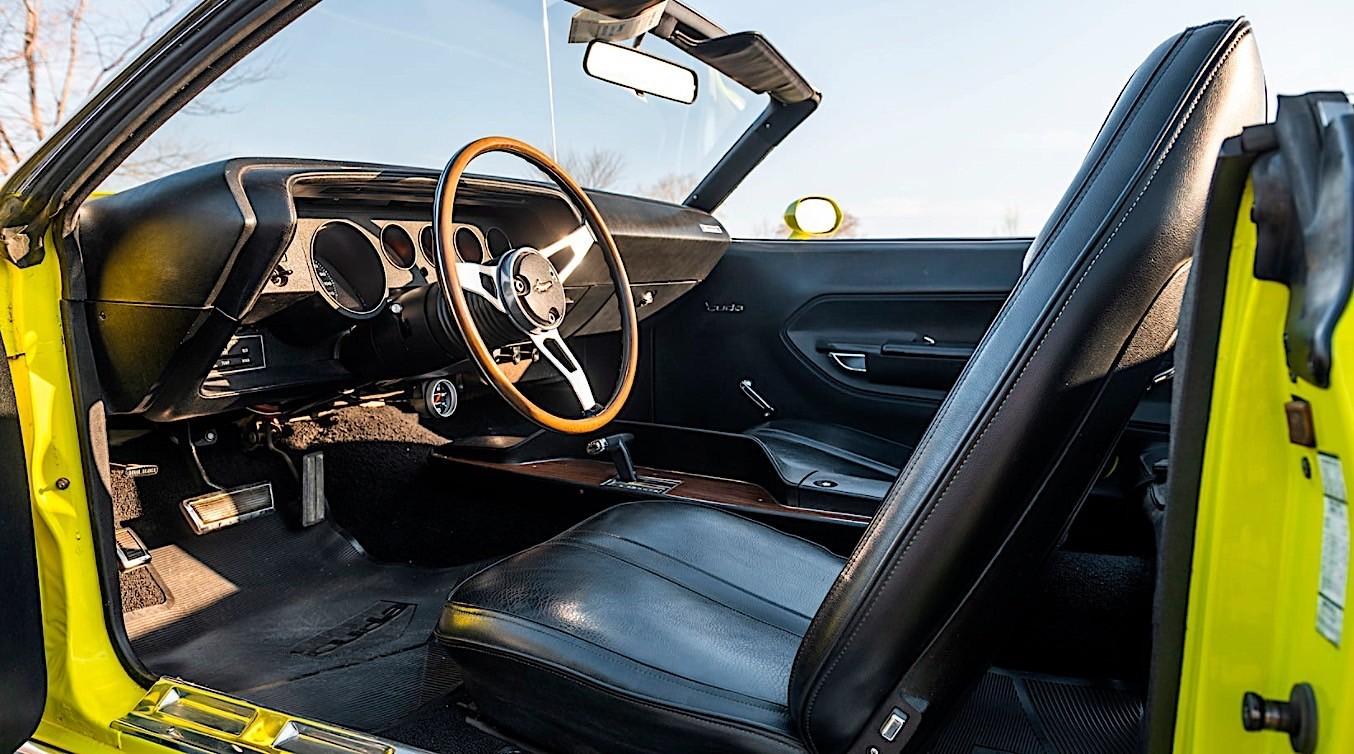 Plymouth Barracuda Convertible 1971
