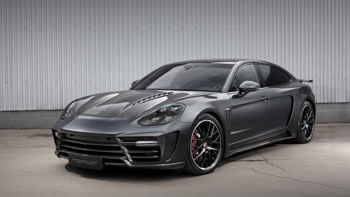 TopCar Porsche Panamera GTR Edition 2019 – Moteur V8 de 650 chevaux
