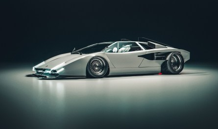 E.VE XENOX Countach par Khyzyl Saleem