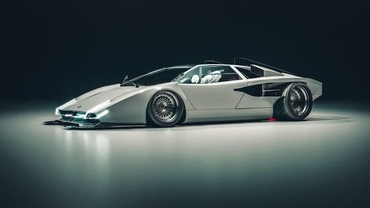 E-VE XENOX Countach par Khyzyl Saleem – La Lamborghini virtuel